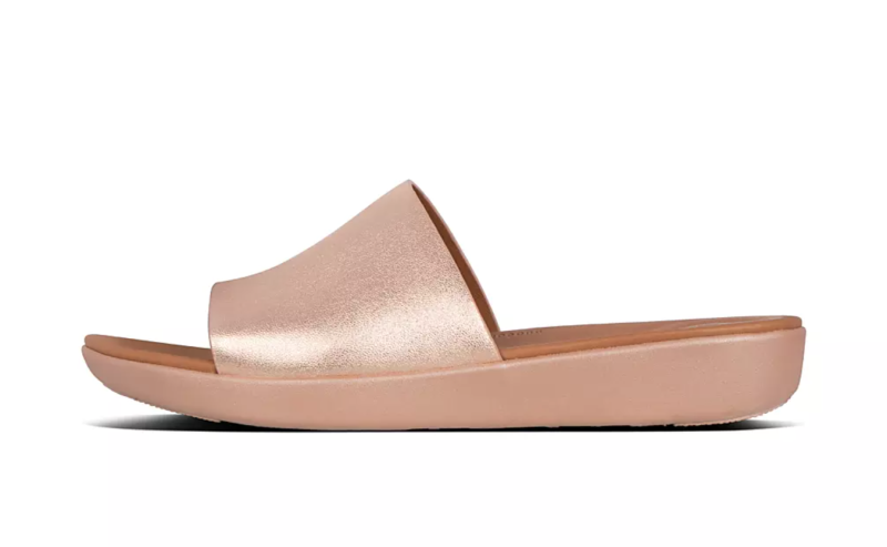 Sola Leather Slides. Image via Fitflop.