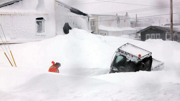Rankin Inlet, Nunavut, begins to dig out from under a potentially record-breaking snowfall after the May 14-16 blizzard.