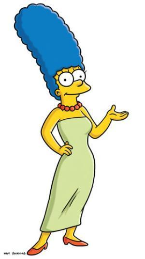 """<div class=""""caption-credit""""> Photo by: Fox</div><b>Marge Simpson of """"The Simpsons""""</b> <br> Marge has worn the same outfit every day since 1989, with very few exceptions. Her timeless look consists of a strapless mint green dress, red kitten heels, and a matching red beaded necklace. We're not sure everyone could pull it off (strapless every day takes dedication), but when you're fearlessly rocking a bright blue beehive in 2012 you must be doing something right."""