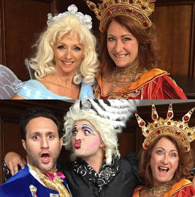 Lynne is going to star in a Beauty and the Beast pantomime in York. Source: Instagram