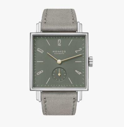 """<p>Tetra Ode To Joy</p><p><a class=""""link rapid-noclick-resp"""" href=""""https://nomos-glashuette.com"""" rel=""""nofollow noopener"""" target=""""_blank"""" data-ylk=""""slk:SHOP"""">SHOP</a></p><p>Nomos Glashütte, the German brand known for its minimalist, design-forward watches, marks the 250th anniversary of the birth of Ludwig Van Beethoven (that's 1770, for those who can't do the maths in their heads) with a new collection in tribute to his greatest works. The four new models in the brand's square-cased Tetra series – Tetra Devine Spark, Tetra Ode To Joy, Tetra Immortal Beloved and Tetra Fidelio – sport in-house mechanical calibers and vibrant dial colours: copper, olive green, turquoise and dark blue, respectively. Nomos is officially calling this a ladies' collection, but the 29.5 x 29.5mm cases would suit most wrists. Plus we're living in gender-fluid 2020, people.</p><p>£1,660; <a href=""""https://nomos-glashuette.com/"""" rel=""""nofollow noopener"""" target=""""_blank"""" data-ylk=""""slk:nomos-glashuette.com"""" class=""""link rapid-noclick-resp"""">nomos-glashuette.com</a></p>"""