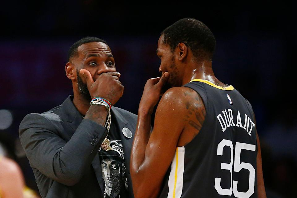 If LeBron James can't lure players to act in Space Jam, how does that bode for his Lakers recruiting? (Getty)