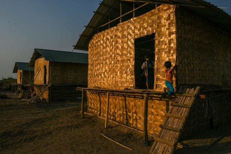 About 200,000 people have been displaced since 2018 by fierce fighting in northern Myanmar's Rakhine state
