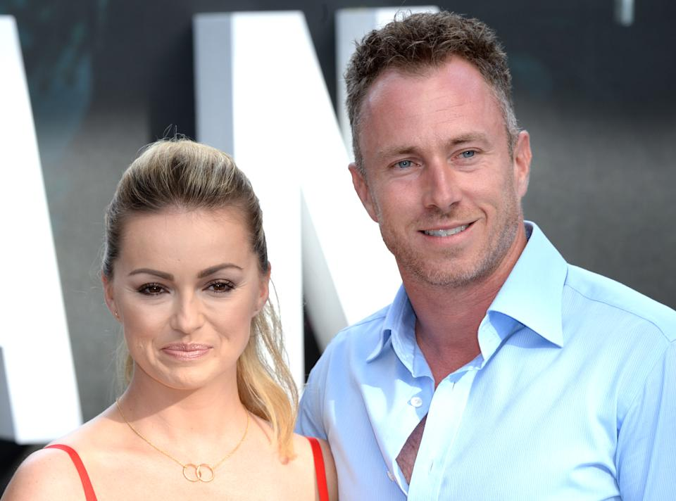 "Ola Jordan and James Jordan attend the european premiere of  ""The Legend Of Tarzan"" at Odeon Leicester Square on July 5, 2016 in London, England.  (Photo by Anthony Harvey/Getty Images)"