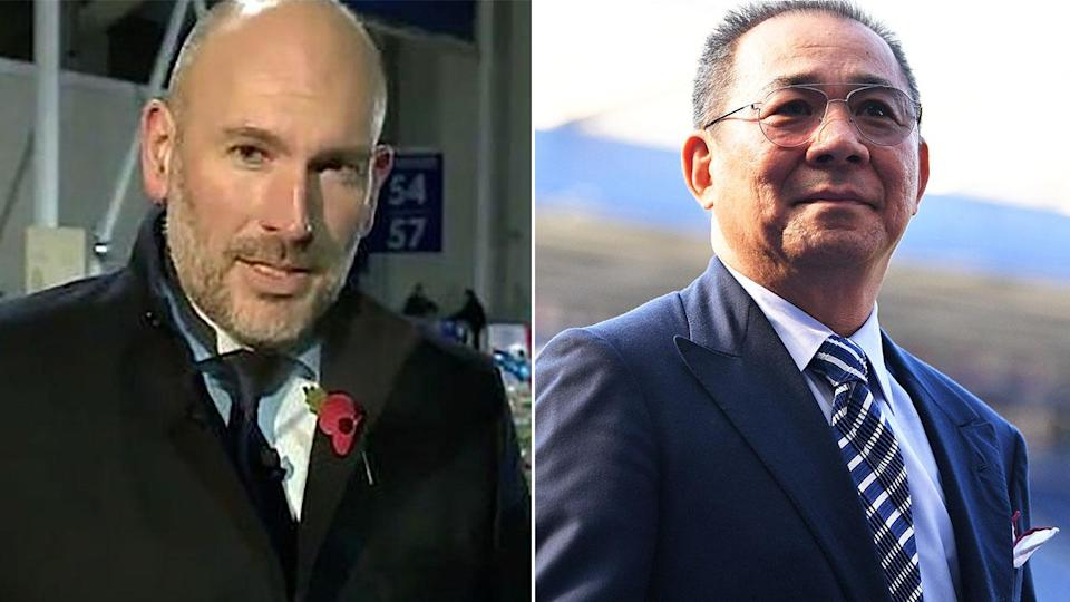 Dan Roan made controversial comments about the late Leicester owner. Image: Getty