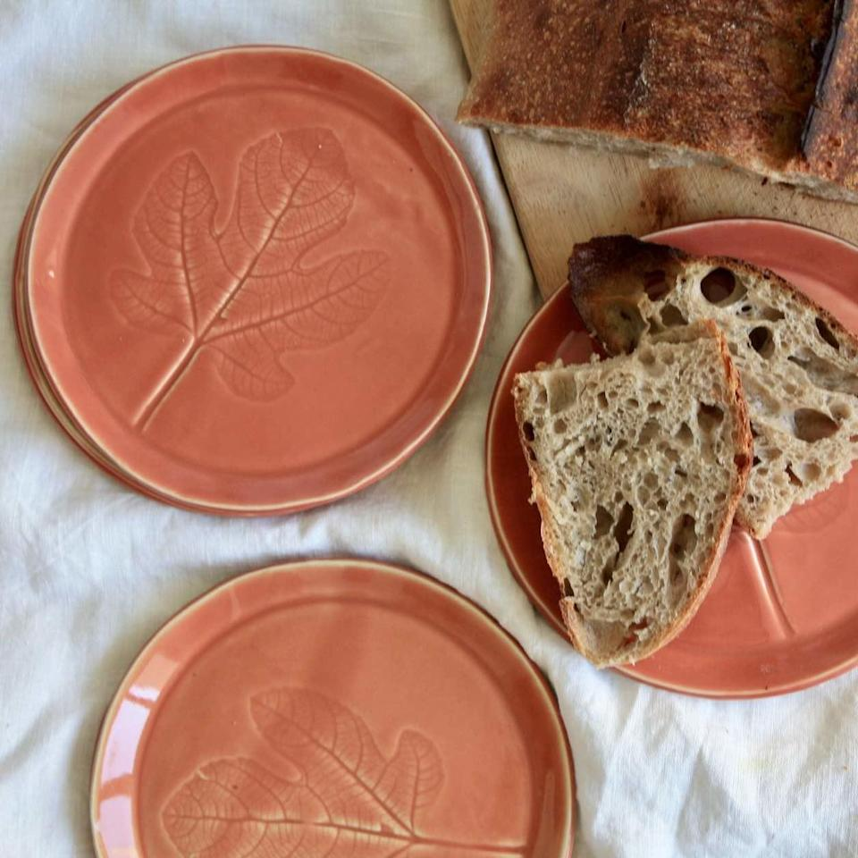 """<br><br><strong>MW Ceramics</strong> MW Ceramics Peach Ceramic Plates, $, available at <a href=""""https://www.wearthlondon.com/all-homewares/peach-ceramic-plate"""" rel=""""nofollow noopener"""" target=""""_blank"""" data-ylk=""""slk:Wearth"""" class=""""link rapid-noclick-resp"""">Wearth</a>"""
