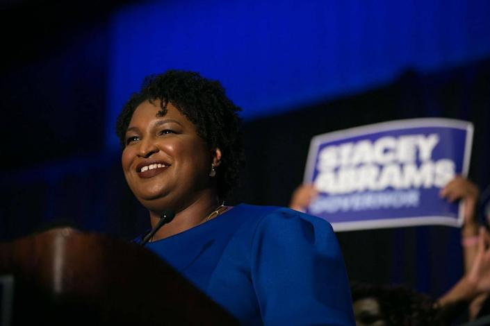 Stacey Abrams (Getty)