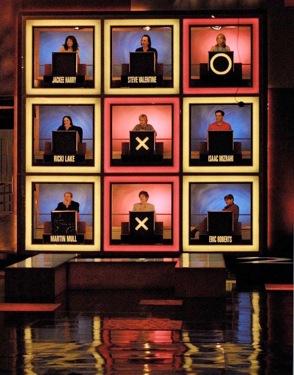 <p>The original season of this real-life tic-tac-toe game debuted in 1965. The premise stayed the same throughout the years. Celebrities would sit in each of the 9 squares. Each contestant has to try to determine whether or not the celebrities answer a question correctly, and eventually complete a pattern to win cash and prizes. There have been plenty of spinoffs, including <em>Storybook Squares </em>(for kids), and some newer revivals like <em>Hip Hop Squares</em> and <em>Nashville Squares. </em></p>