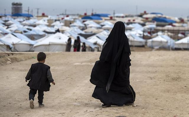The sheer number of displaced has threatened to overwhelm the capacity of the camps set up to accommodate them (AFP Photo/FADEL SENNA)
