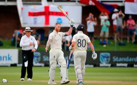 Ben Stokes' 100 - Credit: GETTY IMAGES