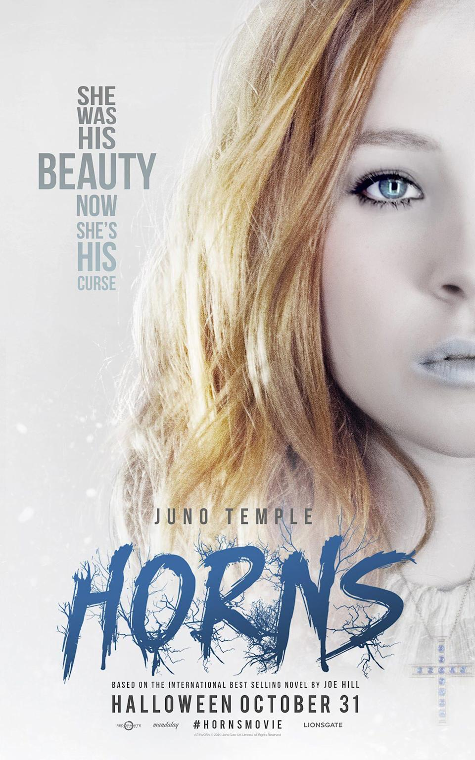 Juno Temple Horns Poster