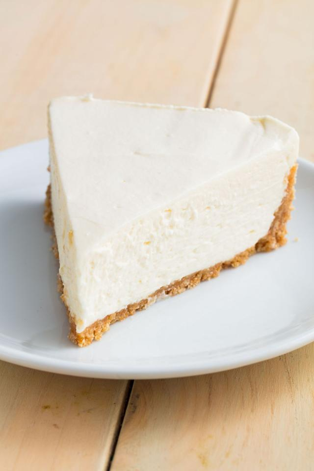 """<p>Takes all the stress of baking a cheesecake away. </p><p>Get the recipe from <a href=""""https://www.delish.com/cooking/recipe-ideas/a20087805/easy-no-bake-cheesecake-recipe/"""" target=""""_blank"""">Delish</a>. </p>"""