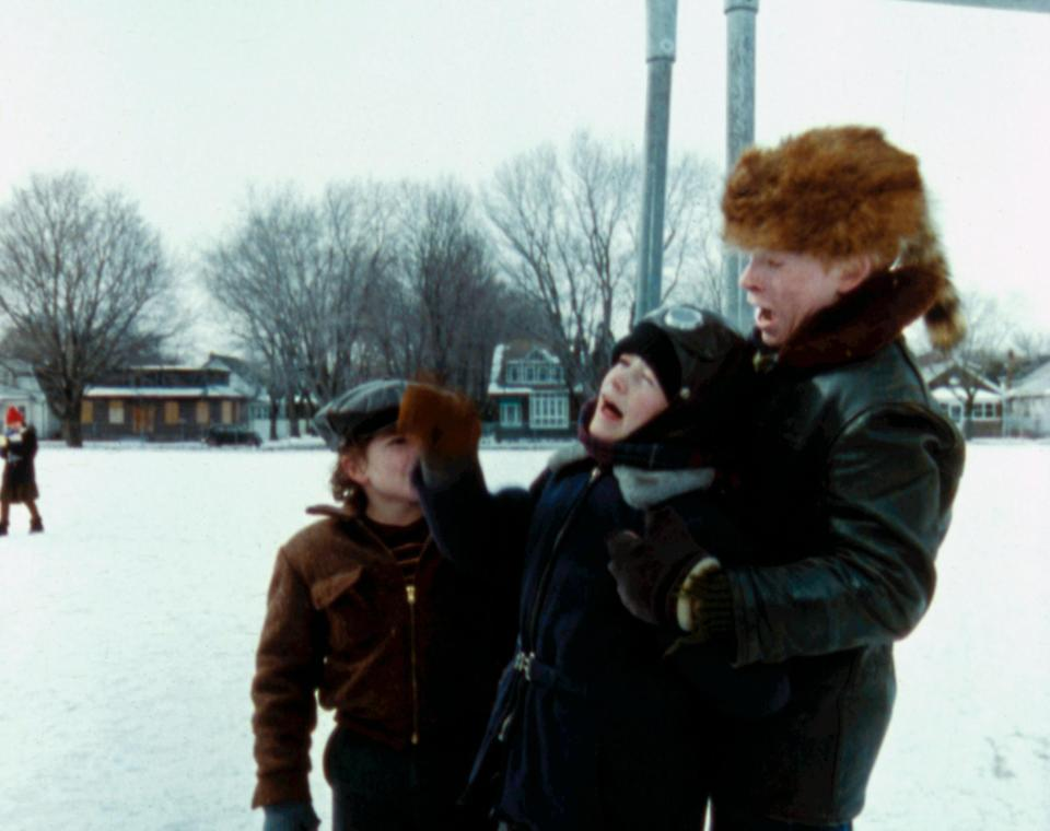 R.D. Robb, Scott Schwartz and Zack Ward in <em>A Christmas Story.</em> (Photo: MGM/Everett Collection)