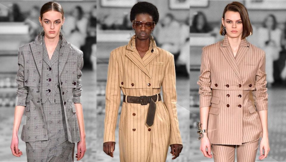 <p>Shop the best fall workwear from Calvin Klein, Ann Taylor, J.Crew and more. (Photo: Getty) </p>