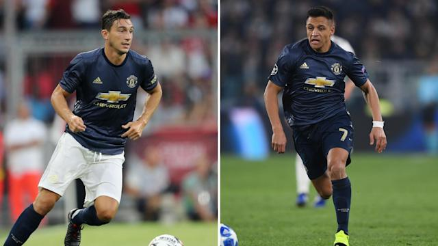 Matteo Darmian and Alexis Sanchez are close to a Manchester United exit.