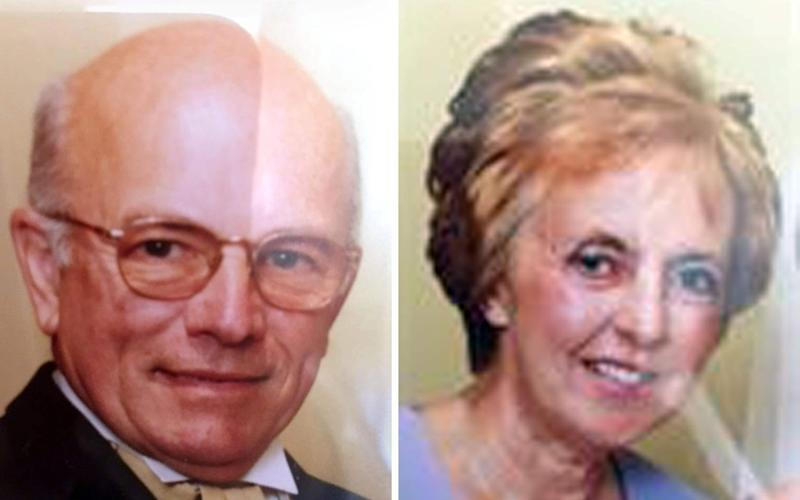Peter Stuart, 75, and his wife, Sylvia, 69 - PA