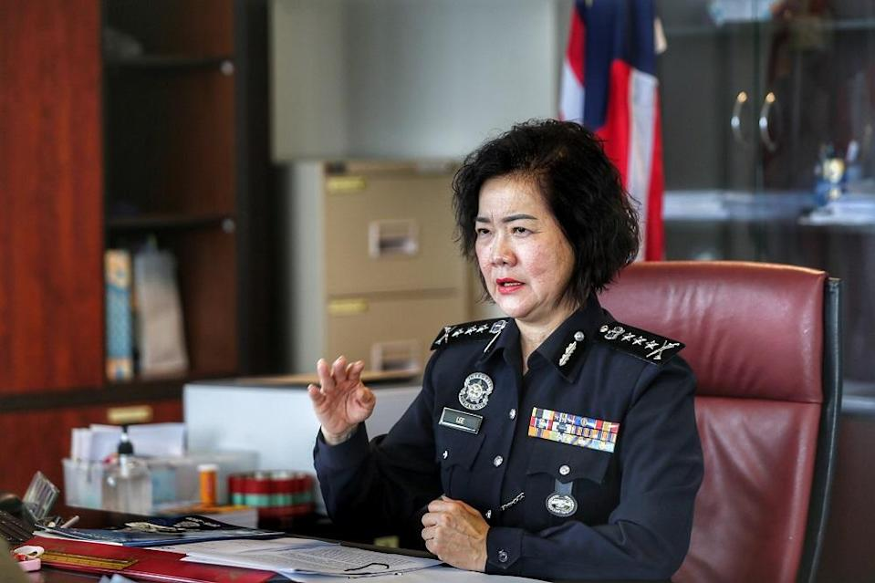 Lee hopes for more chances will be given to fellow policewomen. ― Picture by Ahmad Zamzahuri