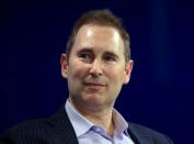FILE PHOTO: Andy Jassy, CEO Amazon Web Services, speaks at the WSJD Live conference in Laguna Beach