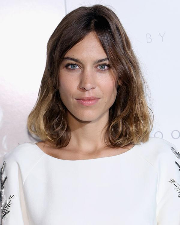 <br>Alexa Chung had the LOB of our dreams, and then she went and did this...