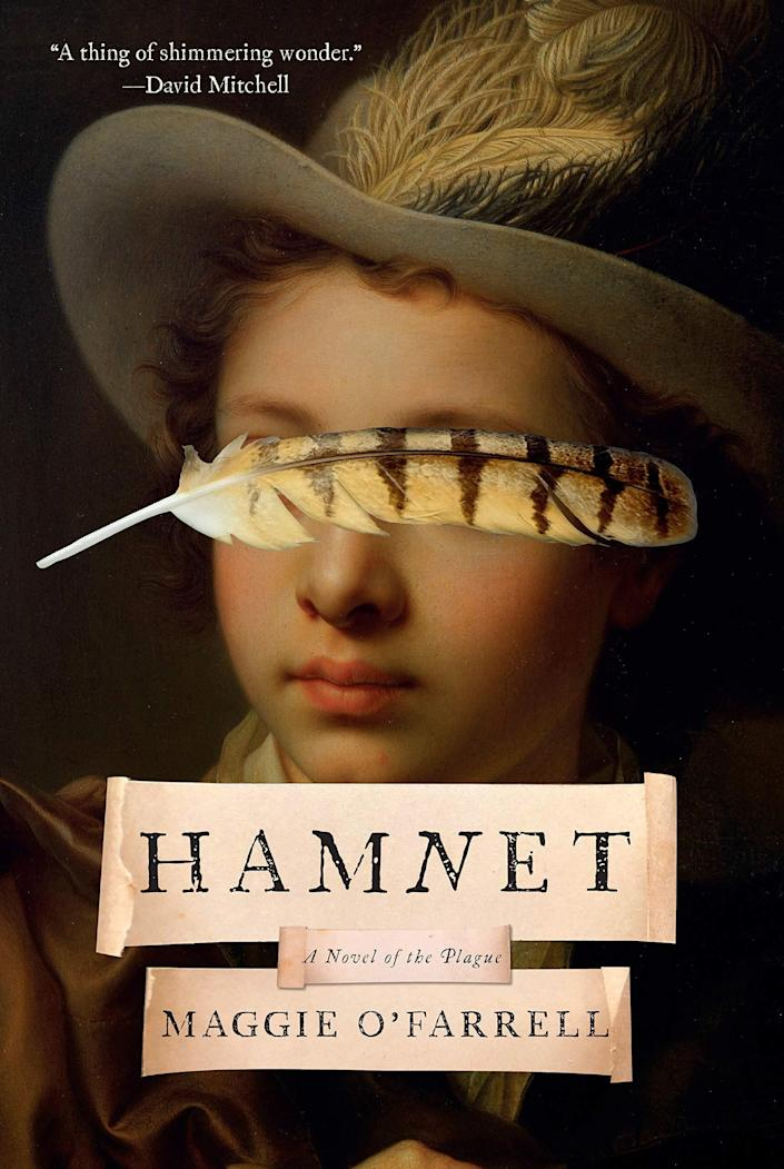 "Step into 15th-century Britain with Maggie O&rsquo;Farrell&rsquo;s &ldquo;Hamnet.&rdquo; This deeply moving tale of historical fiction follows a young William Shakespeare and the woman he falls in love with, Agnes, as they deal with losing their son Hamnet to the bubonic plague. &ldquo;Hamnet&rdquo; is described as a &ldquo;luminous portrait of a marriage, a shattering evocation of a family ravaged by grief and loss, and a hypnotic recreation of the story that inspired one of the greatest literary masterpieces of all time.&rdquo; Read more about it on <a href=""https://www.goodreads.com/book/show/48677123-hamnet"" rel=""nofollow noopener"" target=""_blank"" data-ylk=""slk:Goodreads"" class=""link rapid-noclick-resp"">Goodreads</a>, and grab a copy on <a href=""https://amzn.to/3dSMkkr"" rel=""nofollow noopener"" target=""_blank"" data-ylk=""slk:Amazon"" class=""link rapid-noclick-resp"">Amazon</a>. <br><br><i>Expected release date: July 21</i>"