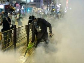 Hong Kong protests escalate after university student's death