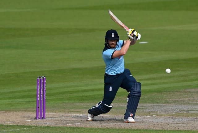 Jonny Bairstow in ODI action for England.