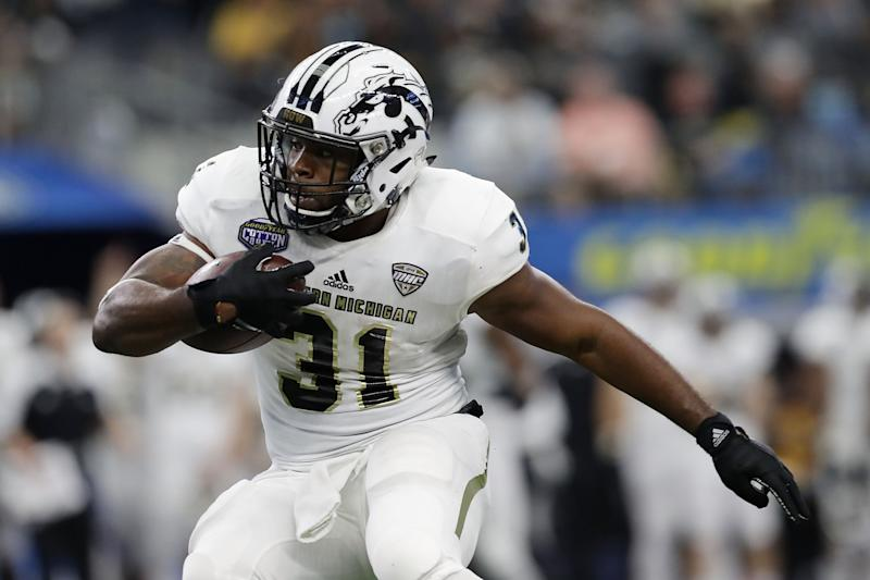 Western Michigan beats Buffalo in 7 OTs; teams set FBS points mark