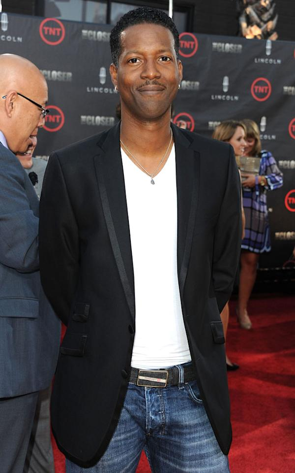 """Corey Reynolds attends the special fan screening of TNT's """"The Closer"""" series finale held at The Roosevelt Hotel on August 7, 2012 in Hollywood, California."""