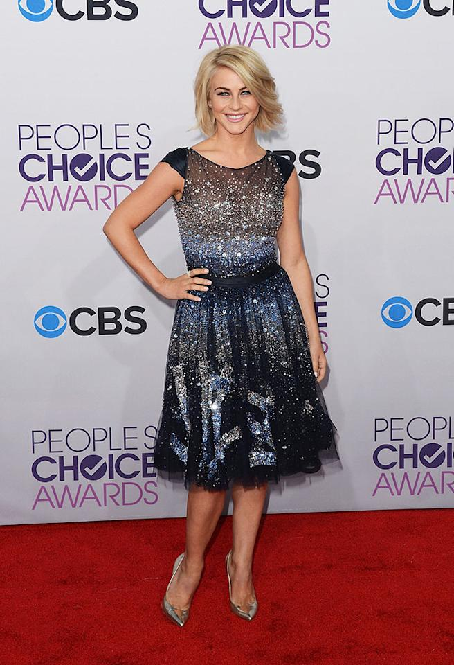 Julianne Hough attends the 39th Annual People's Choice Awards at Nokia Theatre L.A. Live on January 9, 2013 in Los Angeles, California.