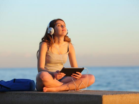 Calm wants your attention – but not in the same way as other tech firms (Shutterstock)