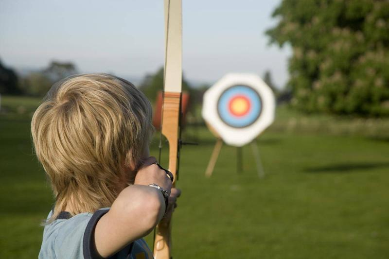 Activities at the Robin Hood Festival include storytelling and archery (Getty Images/iStockphoto)
