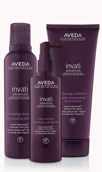"""<p><strong>aveda</strong></p><p>aveda.com</p><p><strong>$43.00</strong></p><p><a href=""""https://go.redirectingat.com?id=74968X1596630&url=https%3A%2F%2Fwww.aveda.com%2Fproduct%2F7485%2F56079%2Fgifts%2Fessentials%2Fhair-care-sets%2Finvati-advanced-system&sref=https%3A%2F%2Fwww.thepioneerwoman.com%2Fbeauty%2Fhair%2Fg32690409%2Fbest-shampoo-for-thinning-hair%2F"""" rel=""""nofollow noopener"""" target=""""_blank"""" data-ylk=""""slk:Shop Now"""" class=""""link rapid-noclick-resp"""">Shop Now</a></p><p>If you want to go all in with the care for thinning hair, pick up this trio of products recommended by Southern: it includes the hair-loss fighting shampoo recommended earlier, along with a conditioner and scalp revitalizer to further stimulate growth at the scalp. </p>"""