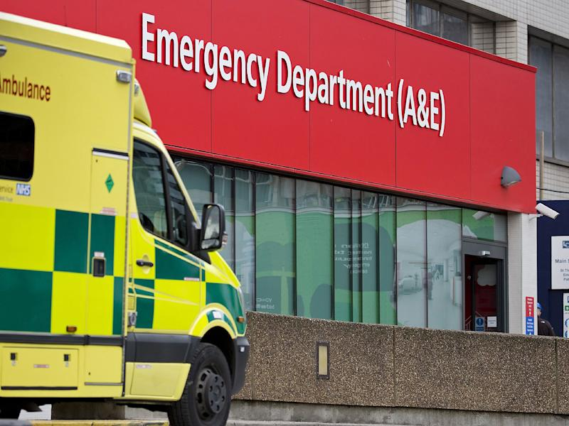 The demands of A&E departments are forcing hospitals to offer doctors huge pay hourly pay rates: Getty Images