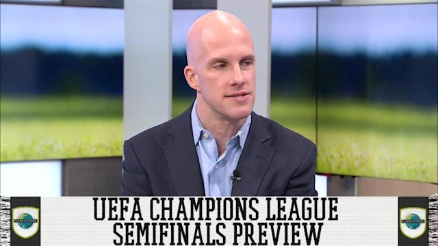Grant Wahl and Luis Miguel Echegaray give their predictions for the UEFA Champions League Semifinal Matchups. Which 2 of ROma, Bayern Munich, Real Madrid and Liverpool will reach the championship match? For more Planet Futbol subscribe to SITV.