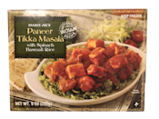 <p>The cubes of cheese hold up surprisingly well in the microwave, and the spinach basmati rice should be in all the Indian dishes.</p>