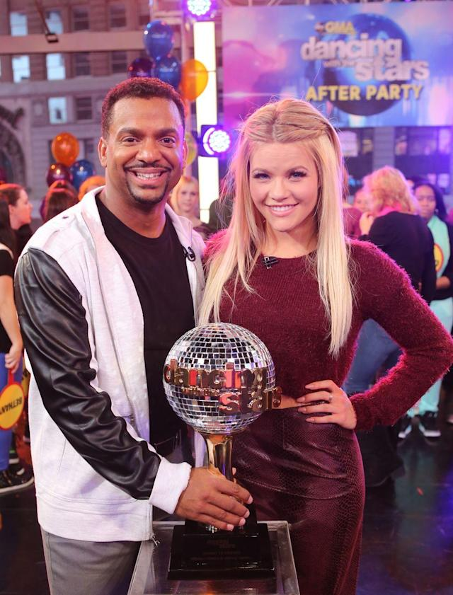"""<p>Alfonso Ribeiro's energy definitely contributed to his season 19 win. The <em>Fresh Prince of Bel-Air </em>actor and partner Witney Carson had fun incorporating <a href=""""https://youtu.be/pbSCWgZQf_g"""" rel=""""nofollow noopener"""" target=""""_blank"""" data-ylk=""""slk:the Carlton"""" class=""""link rapid-noclick-resp"""">the Carlton</a> and it became the stuff of <em>DWTS</em> legends.</p>"""