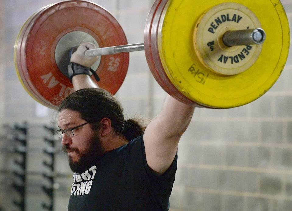 Weightlifter Caine Wilkes is a first-time Olympian at age 34.