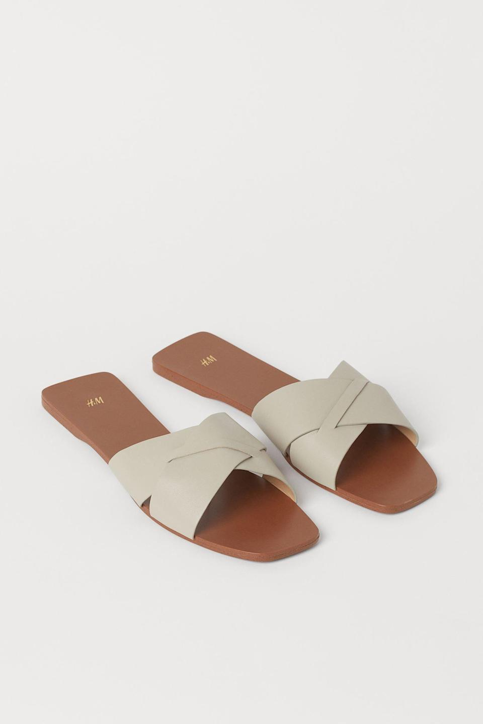 <p>Wear these slip-on <span>Slides</span> ($13) to the beach, farmers' market, and literally anywhere else.</p>