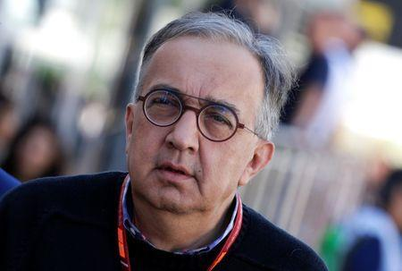 FILE PHOTO - Formula One - F1 - Italian Grand Prix 2017 - Monza, Italy - September 3, 2017 Ferrari president Sergio Marchionne arrives before the race REUTERS/Max Rossi