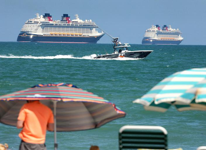 Disney Cruise Line has canceled itineraries through June as the industry awaits further instructions from the CDC.