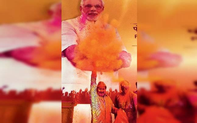 Modi wave sweeps the state as BJP storms to power with more than three-fourths majority