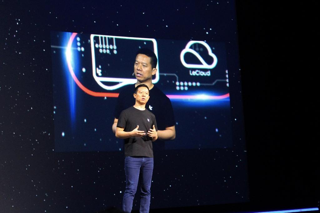 Leshi Internet is the main publicly traded arm of LeEco, once one of China's most ambitious companies founded by flamboyant entrepreneur Jia Yueting (AFP Photo/Glenn CHAPMAN)