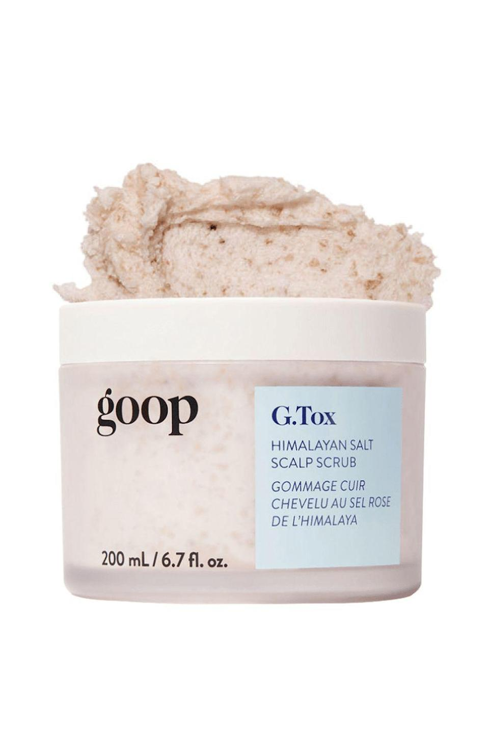 """<p><strong>Goop</strong></p><p>credobeauty.com</p><p><strong>$42.00</strong></p><p><a href=""""https://go.redirectingat.com?id=74968X1596630&url=https%3A%2F%2Fcredobeauty.com%2Fproducts%2Fg-tox-himalayan-salt-scalp-scrub-shampoo&sref=https%3A%2F%2Fwww.cosmopolitan.com%2Fstyle-beauty%2Fbeauty%2Fg33473200%2Fbest-organic-hair-products%2F"""" rel=""""nofollow noopener"""" target=""""_blank"""" data-ylk=""""slk:Shop Now"""" class=""""link rapid-noclick-resp"""">Shop Now</a></p><p>Once or twice a week, <strong>give your <a href=""""https://www.cosmopolitan.com/style-beauty/beauty/g30896457/dry-scalp-treatment-products/"""" rel=""""nofollow noopener"""" target=""""_blank"""" data-ylk=""""slk:scalp"""" class=""""link rapid-noclick-resp"""">scalp</a> a deep clean with this organic scrub/shampoo hybrid.</strong> It uses tiny bits of mineral-rich Himalayan pink salt to help exfoliate way any build-up, flakes, or excess oil that gets stuck on your scalp, plus a dose of all-natural moringa and rosehip seed oil to nourish and soften hair.</p>"""