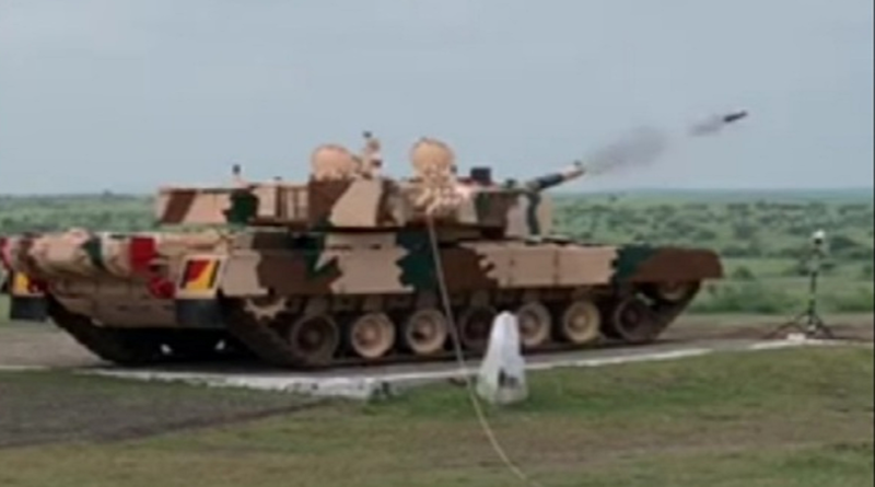 India Test-Fires Laser-Guided Anti Tank Missile from MBT Arjun in Ahmednagar; Know All About ATGM