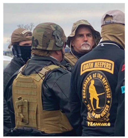 Graydon Young, a 54-year-old Florida man, has become the first Oath Keeper charged with conspiracy to plead guilty to charges stemming from the January 6 Capitol riot. / Credit: Department of Justice