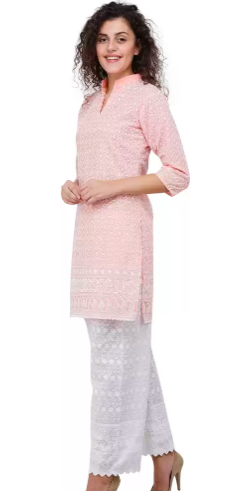 SHOP: Ditch your loungewear for some ethnic Chikankari kurtas