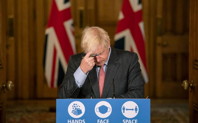 MPs and local mayors are unhappy about Boris Johnson's latest coronavirus restrictions - Pool