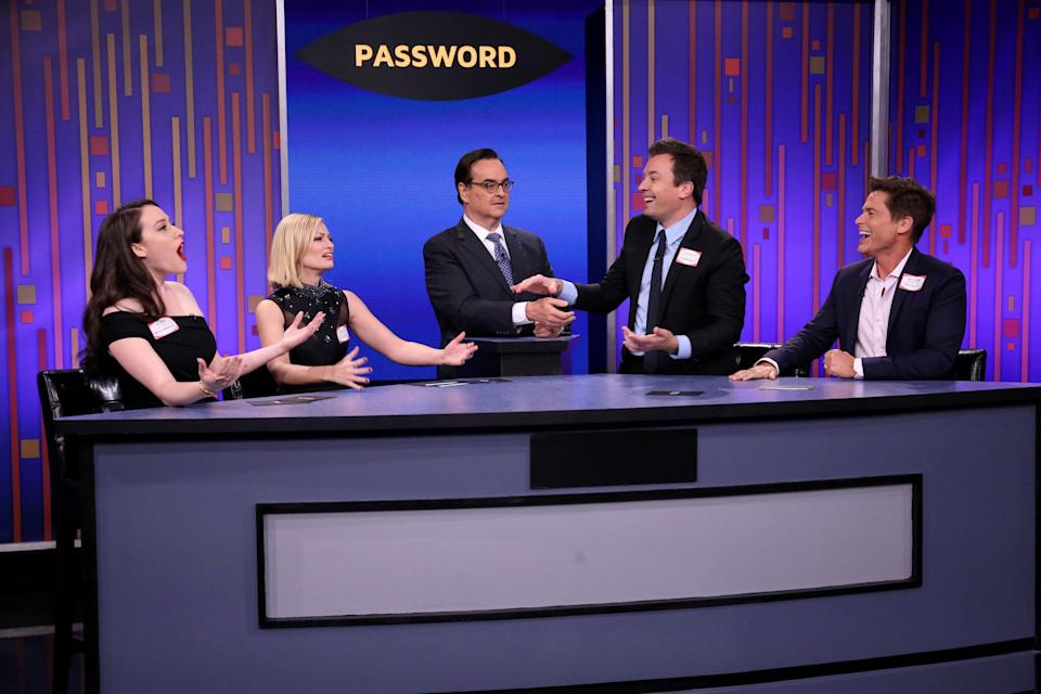 All of these people just agreed to share a password. (Photo: NBC via Getty Images)