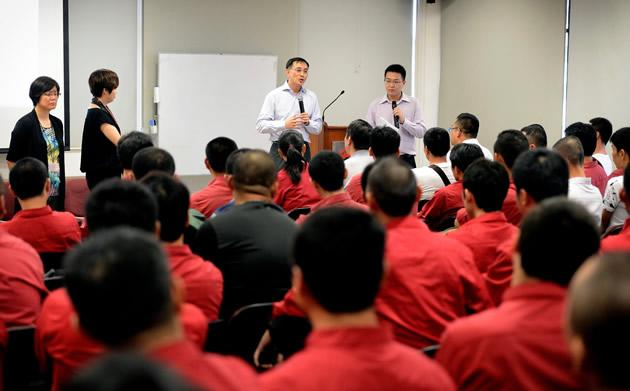 China bus drivers' pay is fair, SMRT CEO insists
