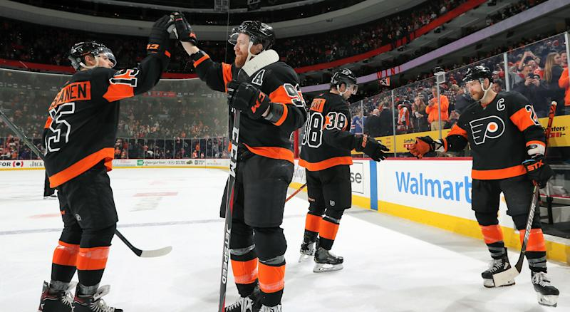 It's not obvious why the Flyers are so good, but they're obviously good. (Getty)
